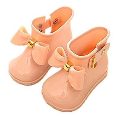 Candykids 可愛いキッズ用レインブーツ 子供 子供用 長靴 ながぐつ子ども用 雨靴 キッズ ジュニア 女の子 子供キッズ 女の子 ガールズ 超かわいいキャンディーモチーフサンダル リッポン 子供レインシューズ ラバーシューズ 海水浴用 (内寸12.8cm, ピンク)