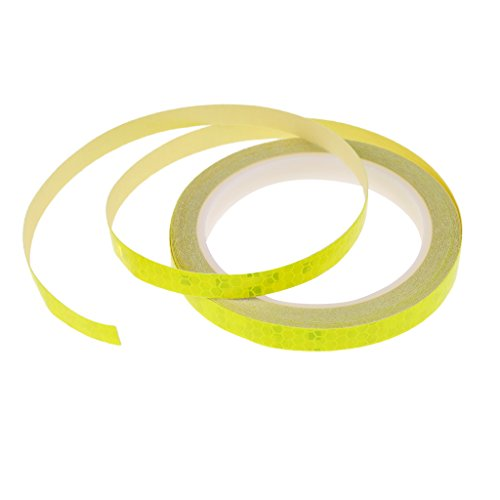 [해외]Lovoski 자전거 높은 가시성 반사 스티커 휠 스티커 밤 사이클링 반사 테이프 총 4 가지 색상/Lovoski Bike High Visibility Reflective Seal Wheel Rim Sticker Night Cycling Reflective Tape All 4 Colors