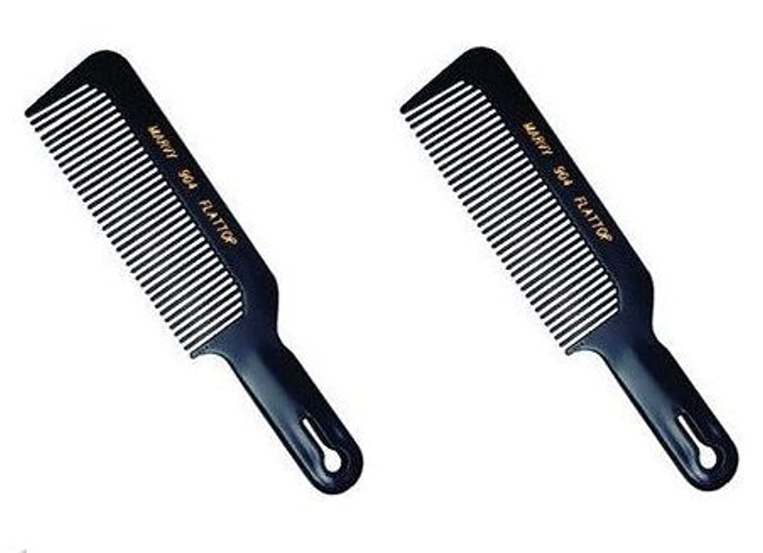 Marvy Flat Top Comb #904 (2-pack) [並行輸入品]