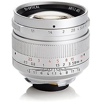 七工匠 7artisans 50mm / f1.1 単焦点レンズ Leica Mマウント Camdiox MC NANO UV フィルター 付属 (銀) [並行輸入品]