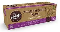 自然値2.6GL Compostable Trash Bags /ケース/ 300CT