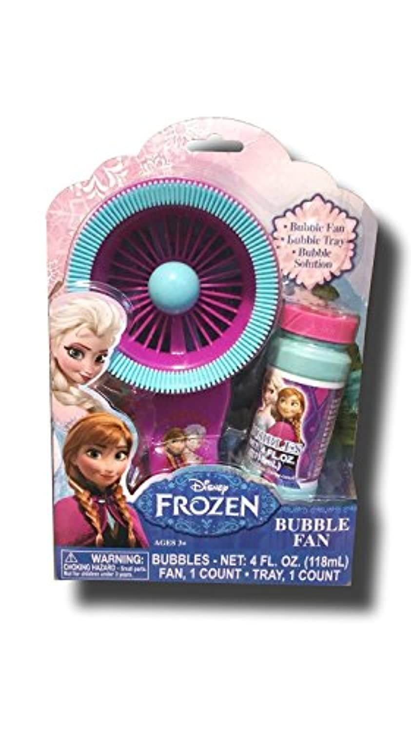 Disney Frozen Elsa and Anna Bubble Fan [並行輸入品]