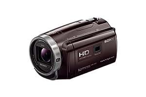 ソニー SONY ビデオカメラ Handycam 光学30倍 内蔵メモリー32GB ボルドーブラウン HDR-PJ675 TC