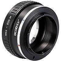 Beschoi M42 マウントアダプター M42-EOS M アダプター M42マウントレンズ-Canon EOS EF-Mマウントボディ対応レンズアダプター レンズマウントアダプター 高精度