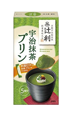 辻利 宇治抹茶プリン 15.0g×5本×30箱入