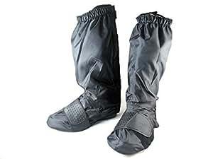 【NEW!】携帯 レイン ブーツカバー シューズカバー バイクにも自転車にも 靴のカッパ コンパクト収納 Lサイズ(26~30㎝用) 防寒 防水 雪 長靴代わり
