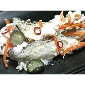 はたはた飯寿司 (鰰いずし) 加工地小樽 2キロ樽入