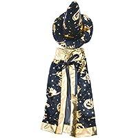 Kesoto ブラック 衣類 ショール 帽子 洋服 ハロウィーン ドレス ドールアクセサリー 18インチアメリカンガール人形のため