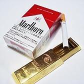 金の延べ棒チョコレート型 携帯灰皿