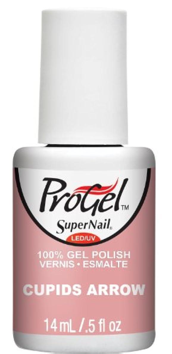 成熟軽減地域のSuperNail ProGel Gel Polish - Cupids Arrow - 0.5oz / 14ml