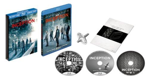 インセプション Blu-ray & DVDセット プレミアムBOX (初回限定生産)の詳細を見る