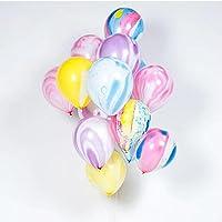 YSAK 風船 バルーン パーティー 飾り パステル おしゃれ 誕生日 結婚式 マーブル 1セット 20個入り (マーブル)