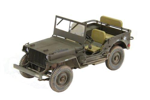 1/20 アメリカ陸軍 1/4トン 4X4 トラック (スラットグリル) No.82001