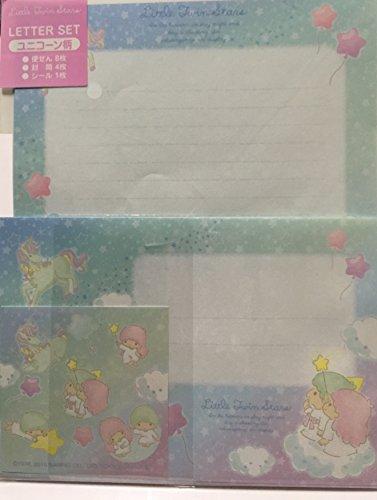サンリオ リトルツインスターズ レターセット【ユニコーン柄・ピンク】キキララ