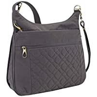 Travelon Travelon Anti-theft Signature Quilted Expansion Crossbody