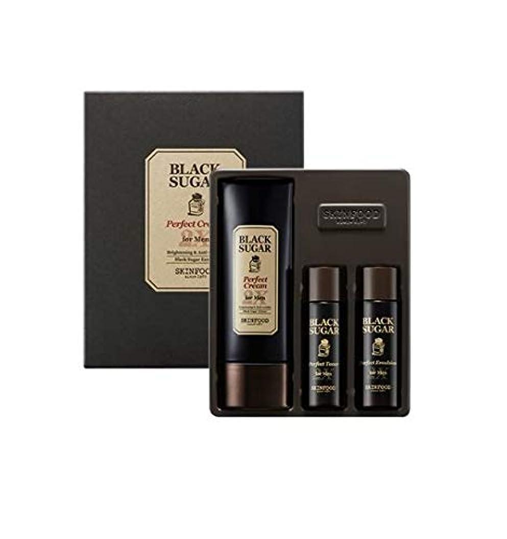 電気的ちなみに近代化Skinfood 男性用ブラックシュガーパーフェクトクリーム2X / Black Sugar Perfect Cream 2X for Men 78ml [並行輸入品]
