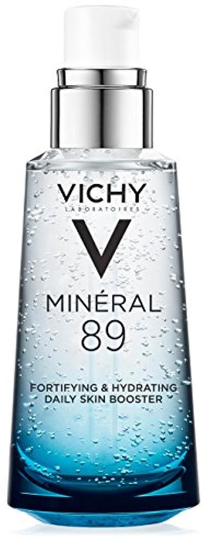 キャンペーン作成する部族Vichy Mineral 89 Fortifying, Hydrating & Plumping Daily Skin Booster, Face Moisturizer with Hyaluronic Acid, 1.67...