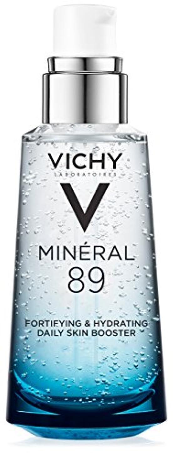 性差別端恐れるVichy Mineral 89 Fortifying, Hydrating & Plumping Daily Skin Booster, Face Moisturizer with Hyaluronic Acid, 1.67...