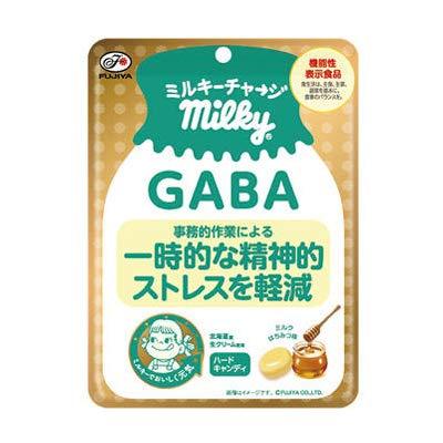 不二家 ミルキーチャージ(GABA)袋 70g 48コ入り