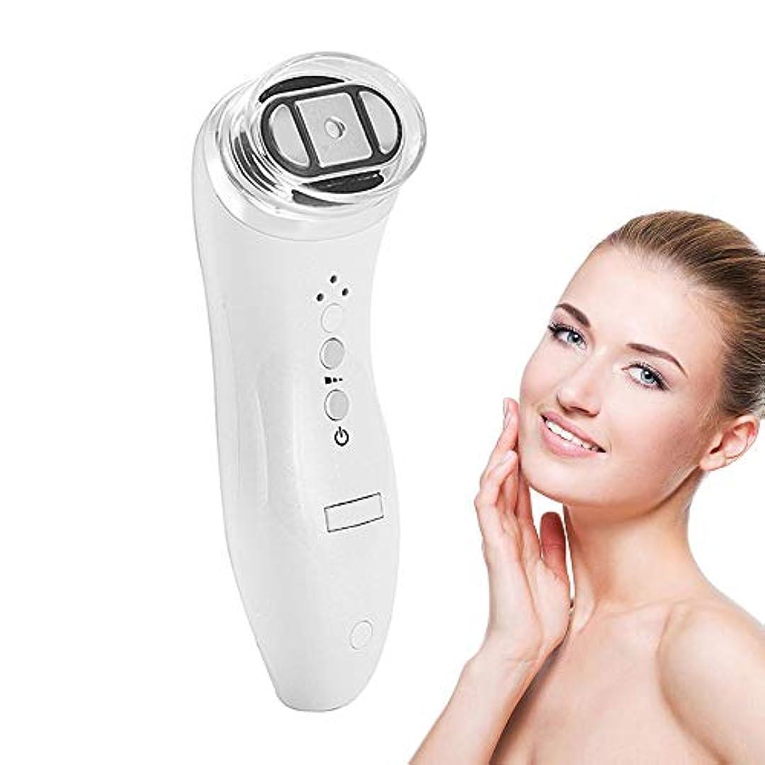 愛国的な屋内圧力アップグレード専門の両極RFの無線周波数の持ち上がる表面スキンケアのマッサージャー、皮の若返りの美装置、白をきつく締める小型手持ち型の反しわ