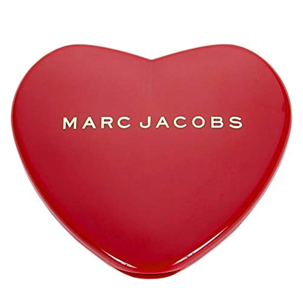 快適難民特別な[名入れ対応可] MARC JACOBS マークジェイコブス ハート コンパクトミラー コスメ 折りたたみ (名入れなし)