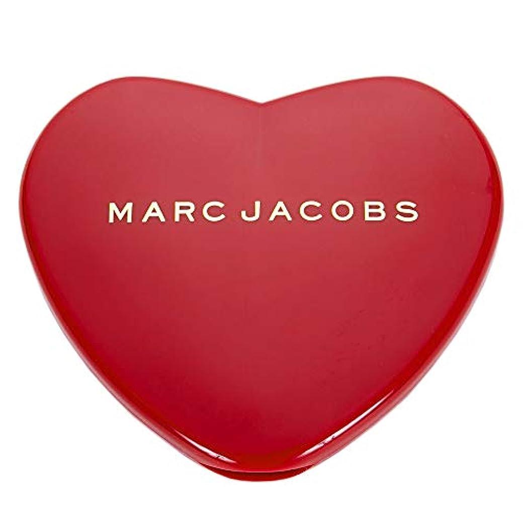 降雨ガイドラインパスタ[名入れ対応可] MARC JACOBS マークジェイコブス ハート コンパクトミラー コスメ 折りたたみ
