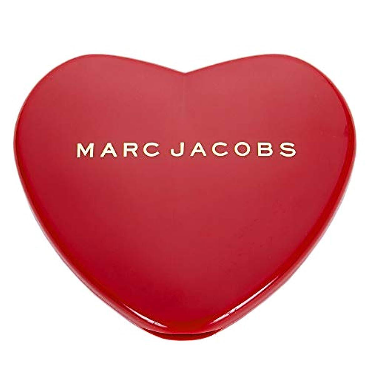 種をまく医薬問い合わせ[名入れ対応可] MARC JACOBS マークジェイコブス ハート コンパクトミラー コスメ 折りたたみ