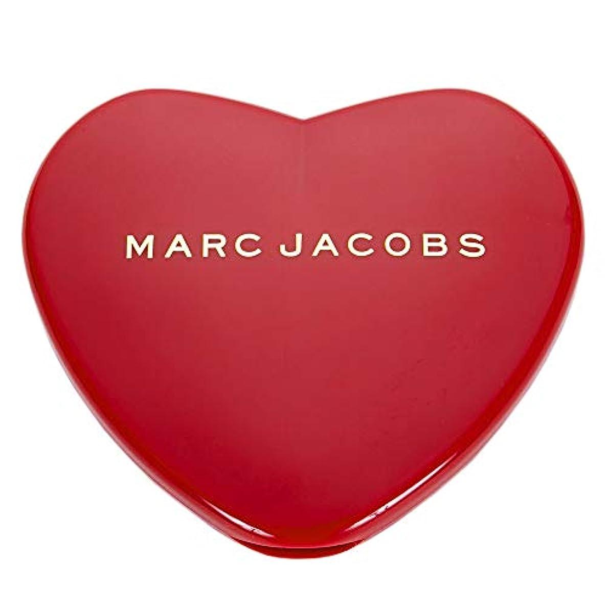 成功する神経衰弱テラス[名入れ対応可] MARC JACOBS マークジェイコブス ハート コンパクトミラー コスメ 折りたたみ (名入れなし)