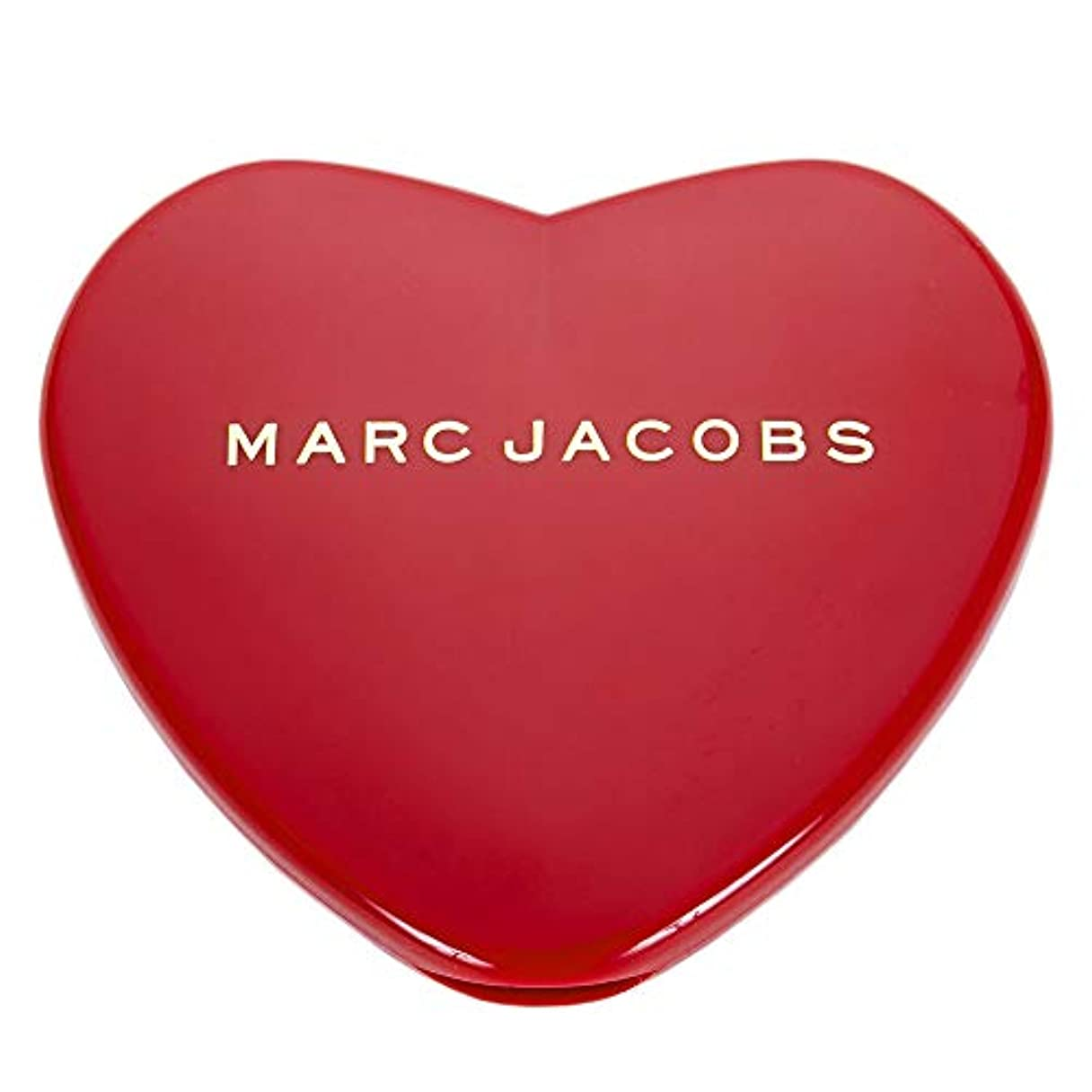 トマト骨の折れる群集[名入れ対応可] MARC JACOBS マークジェイコブス ハート コンパクトミラー コスメ 折りたたみ (名入れなし)
