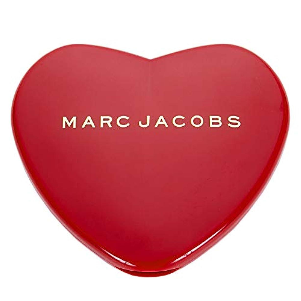 決定ロマンチック泣いている[名入れ対応可] MARC JACOBS マークジェイコブス ハート コンパクトミラー コスメ 折りたたみ (名入れなし)