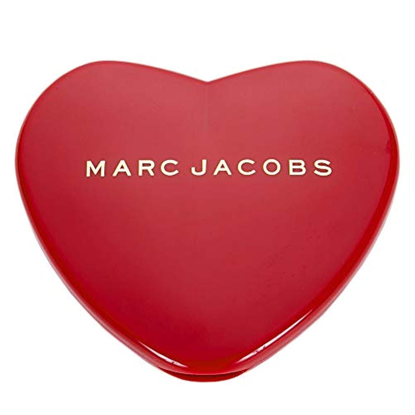 失敗放置擁する[名入れ対応可] MARC JACOBS マークジェイコブス ハート コンパクトミラー コスメ 折りたたみ