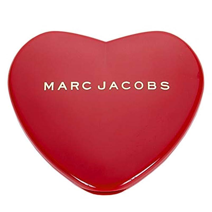 課す提供ネブ[名入れ対応可] MARC JACOBS マークジェイコブス ハート コンパクトミラー コスメ 折りたたみ