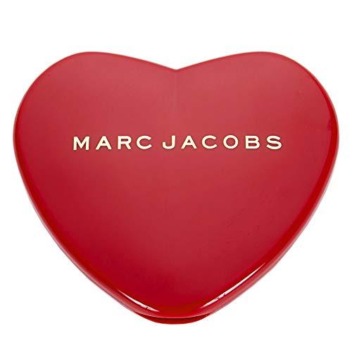[名入れ対応可] MARC JACOBS マークジェイコブス ハート コンパクトミラー コスメ 折りたたみ (名入れなし)