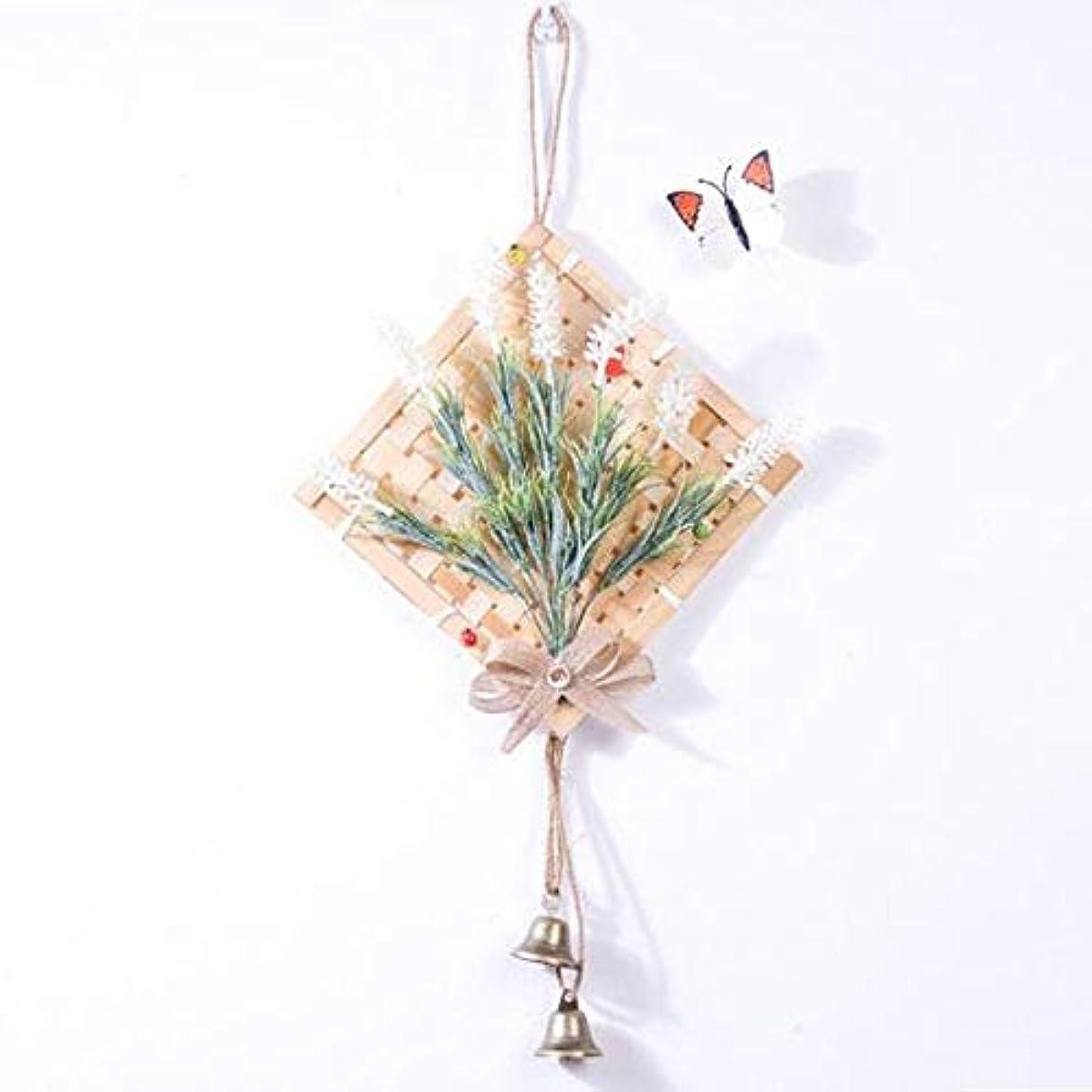 カメラガム千Aishanghuayi 風チャイム、クリエイティブ?竹風チャイム、白、幅28.5cmくらい,ファッションオーナメント (Color : White)