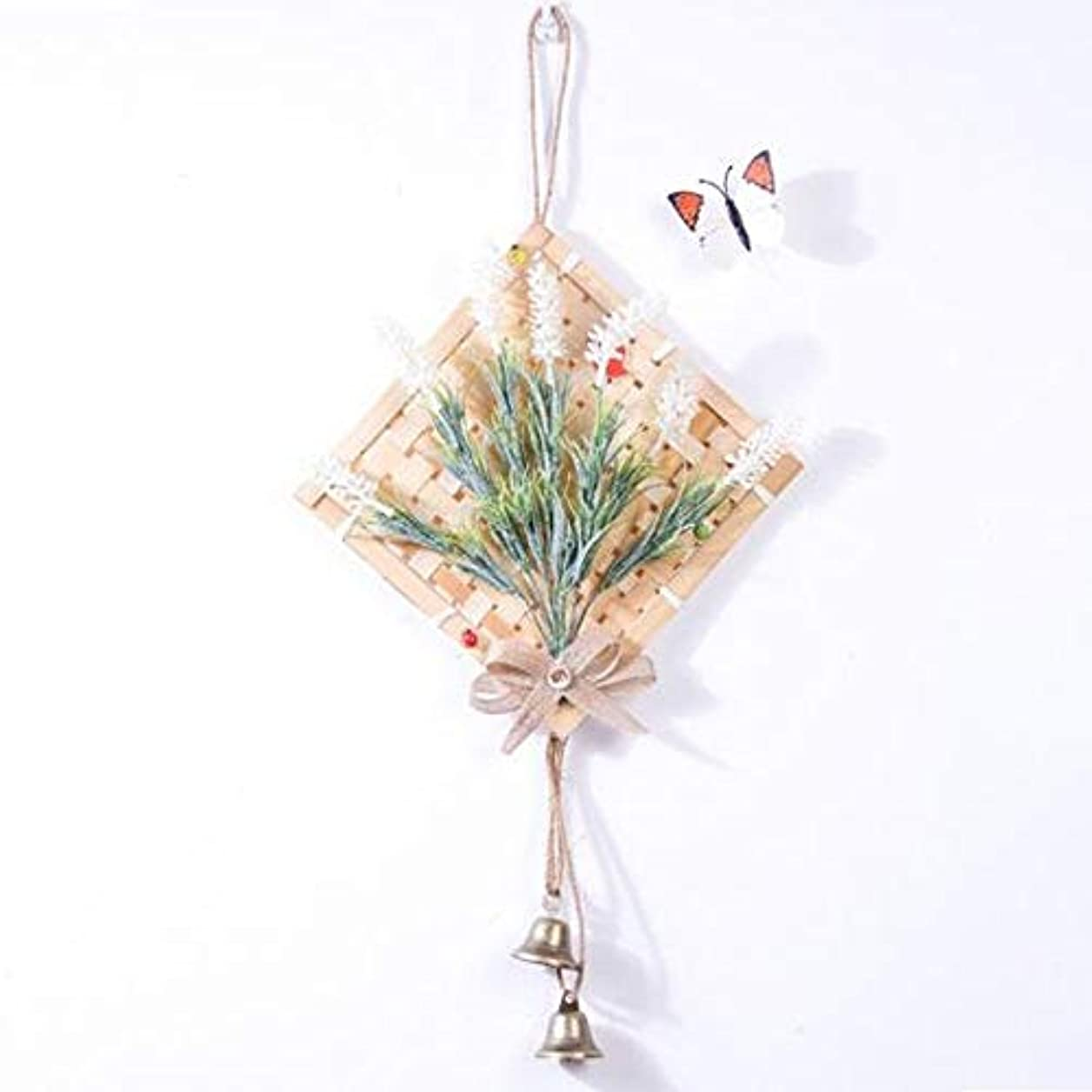 香水モザイク素晴らしさYougou01 風チャイム、クリエイティブ?竹風チャイム、白、幅28.5cmくらい 、創造的な装飾 (Color : White)