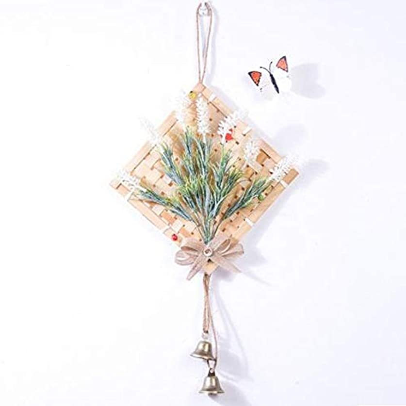 入浴略す知覚できるYougou01 風チャイム、クリエイティブ?竹風チャイム、白、幅28.5cmくらい 、創造的な装飾 (Color : White)