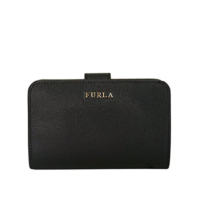 [フルラ] FURLA 財布 BABYLON ZIP AROUND PR85 B30 ONYX [並行輸入品]