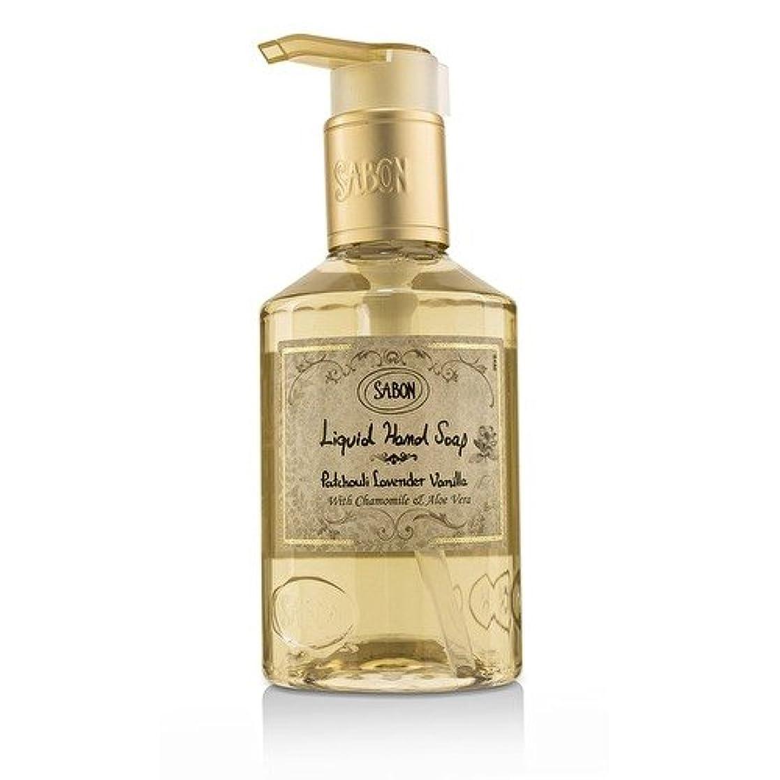雨軽減よろめくサボン Liquid Hand Soap - Patchouli Lavender Vanilla 200ml/7oz並行輸入品