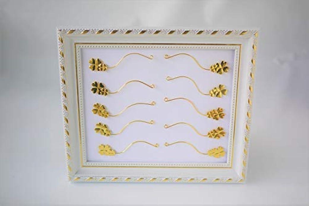 ゴール実験木アイラッシュ クローバー 四葉 アイデザイン デザイン シュミレーター フレーム まつえく マツエク まつ毛エクステ つけまつ毛 まつげ つけまつげ アイラッシュ サロン サンプル パネル セット