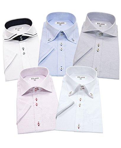 半袖ワイシャツ メンズ 5枚セット 形態安定 BS-shirt /(ビジネスマンサポートシャツ/)