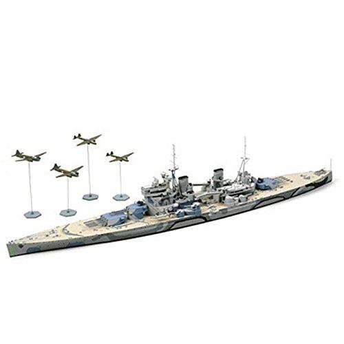 1/700 ウォーターラインシリーズ No.615 1/700 イギリス海軍 戦艦 プリンス・オブ・ウェールズ マレー沖海戦 31615