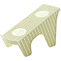 Kuke シューズホルダー 省スペース 靴ホルダー 靴 靴スタンド 収納 便利 整理 男女兼用 耐久性 ストレージラック靴立て 玄関収納 廊下 主婦のヘルパー シューズ すっきり size 25 * 10 * 13cm (yellow)