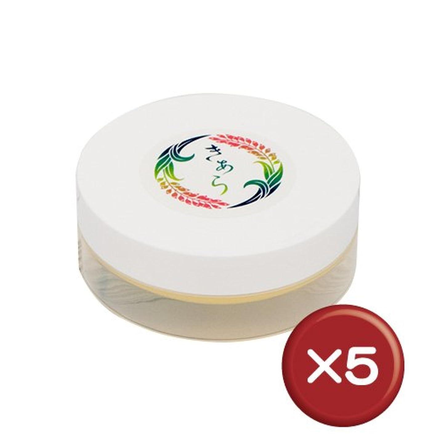 パウダー不規則性ログ月桃精油入りミツロウクリーム 5個セット