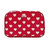 [キャスキッドソン] Cath Kidson 506441 ボックスウォッシュバッグ 化粧ポーチ PVC Box Wash bag レディース Dot Hearts Red [並行輸入品]
