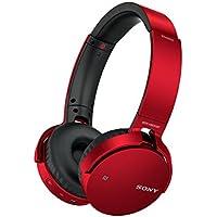 ソニー SONY ワイヤレスヘッドホン 重低音モデル MDR-XB650BT : Bluetooth対応 折りたたみ式 レッド MDR-XB650BT R