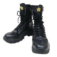岩崎製作所 IWA 消防編上げ靴 PRIBON(プリボン) 30.0cm IWA-PRIBON-300 [カラー:ブラック] [サイズ:30.0]