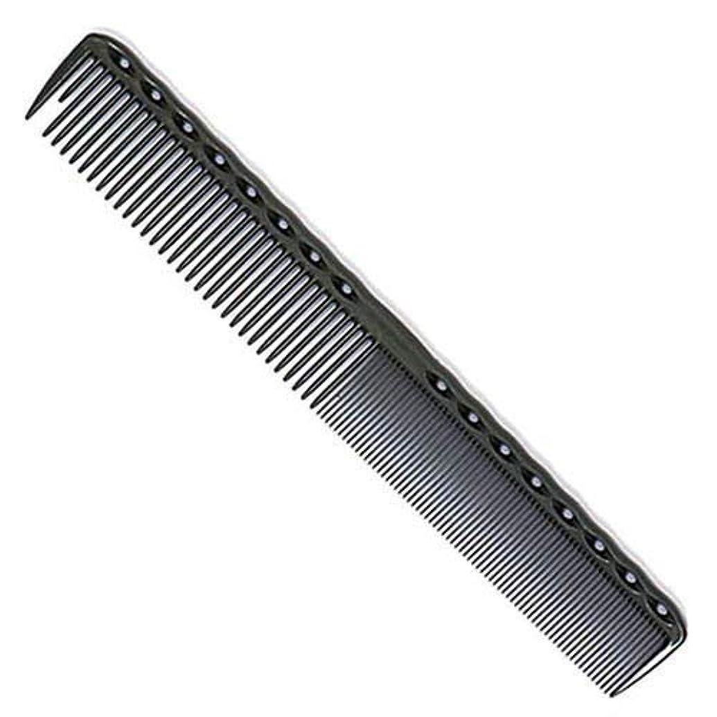 指定状彫刻YS Park 336 Fine Cutting Grip Comb - Graphite [並行輸入品]
