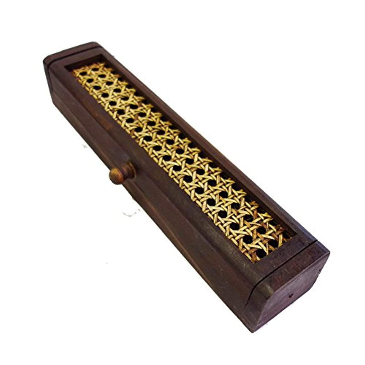 フィッティングガスフィード(Natural Handmade) ウッドボックスお香立て(インセンスBOX)
