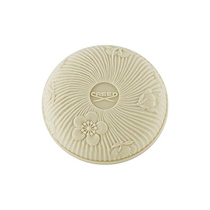 やめる脅迫眠る[Creed ] 白い石鹸150グラムで信条愛 - Creed Love In White Soap 150G [並行輸入品]