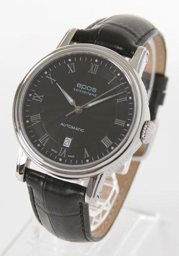 腕時計 エモーション レザー ブラック 3390RBK メンズ エポス